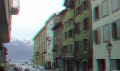 Place de l Ancien Port in Vevey,einer Stadt in der Nähe von Montreux