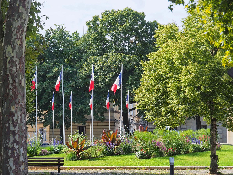 Place du 8 mai 1945 à Agen