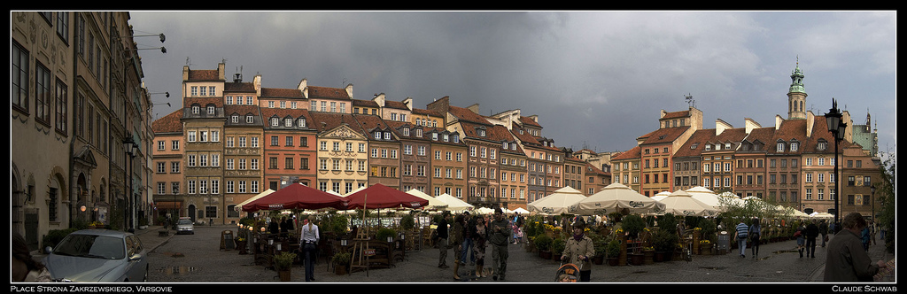 Place du marché de la vieille ville, Varsovie