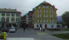 Place du Marche in Vevey,eineStadt bei Montreux