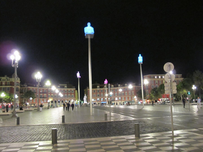 Place Masséna in Nizza