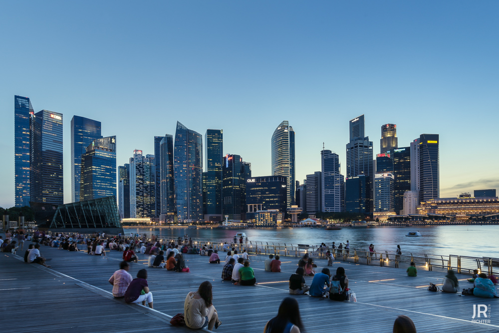 Plätze der Welt - Singapur - Marina Bay