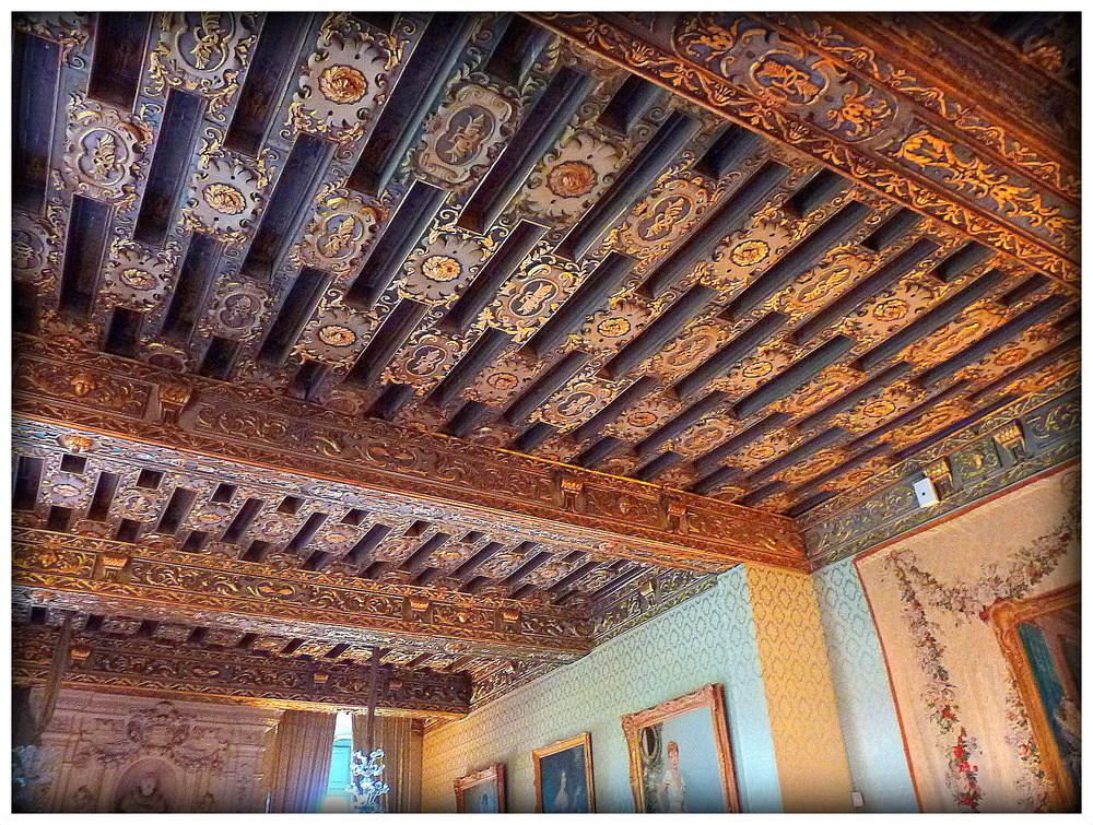 plafond decors peints photo et image architecture d 39 int rieur bretagne et autour d cors. Black Bedroom Furniture Sets. Home Design Ideas