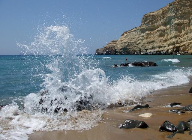 plage de crète