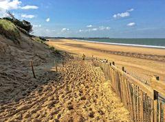 plage de la conche - ile de ré - 25 fevrier