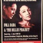 PLAKAT Billie Holiday JAZZ Gottesdienst