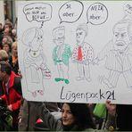 Plakat: JAABER gegen NEINABER ... Stuttgart K21 MoDEMO 16.05.2011