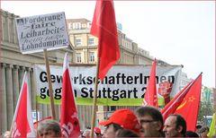 Plakat Leiharbeit - Stuttgart Demo 15.05.2012 - Blockupy