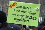 Plakat Stimme zur Wahl Stuttgart 19.2.2011