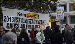 PLAKAT Stuttgart K21 nach OBWahl 22.10.12