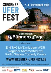 Plakat Uferfest