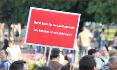 Plakat: WAHL-EGAL?! Stuttgart am20.08.2010 +19.2.11