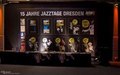 Plakate 15 Jahre Jazztage Dresden