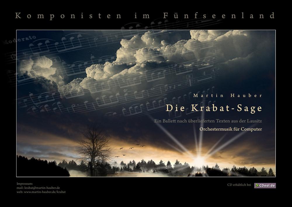"""Plakatentwurf  """"Die Krabat-Sage"""""""