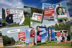 Plakatiertes zur Wahl in MV