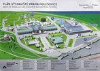 Plan Vystaviste Praha Holesovice