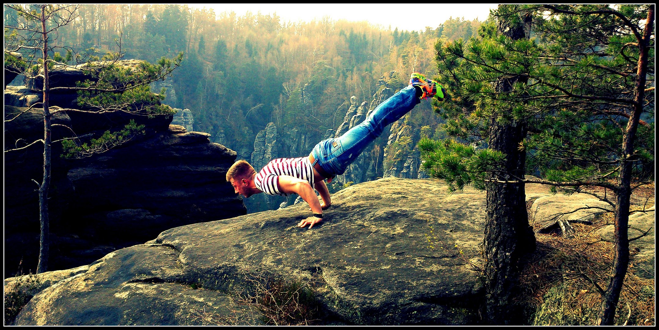 Planche on the Rock