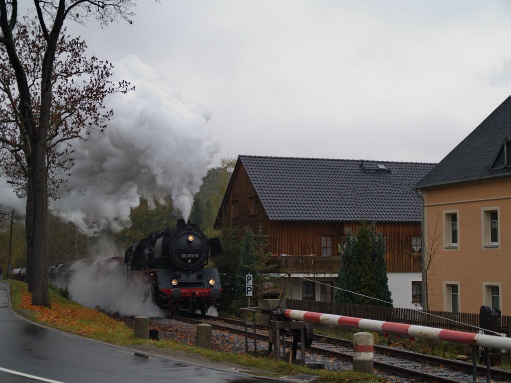 Plandampf 2010...Einfahrt Markersbach