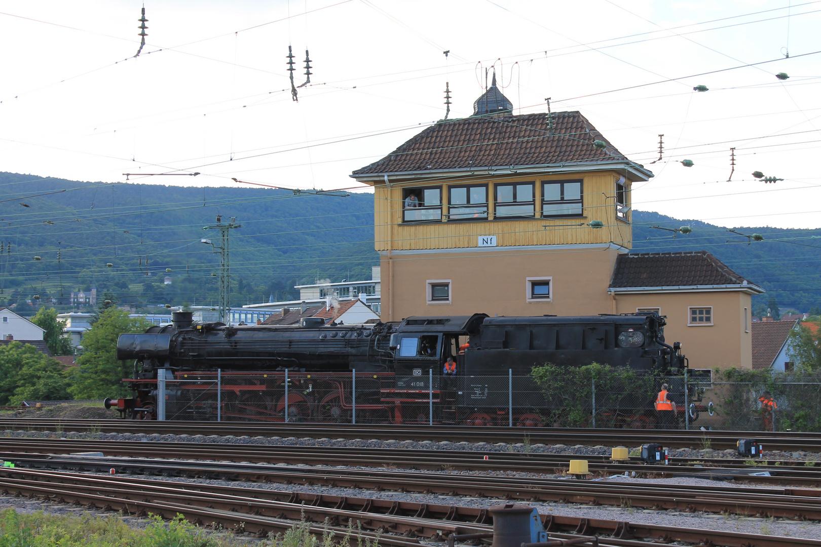 Plandampf in der Pfalz