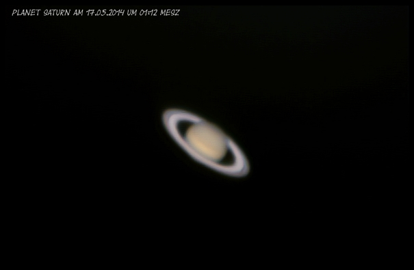 Planet Saturn am 17.05.2014 Ver,1.0