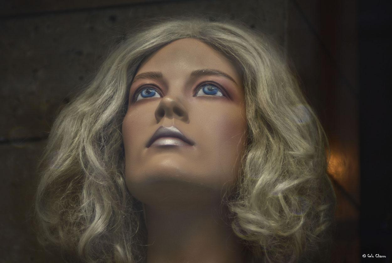 Plastic woman