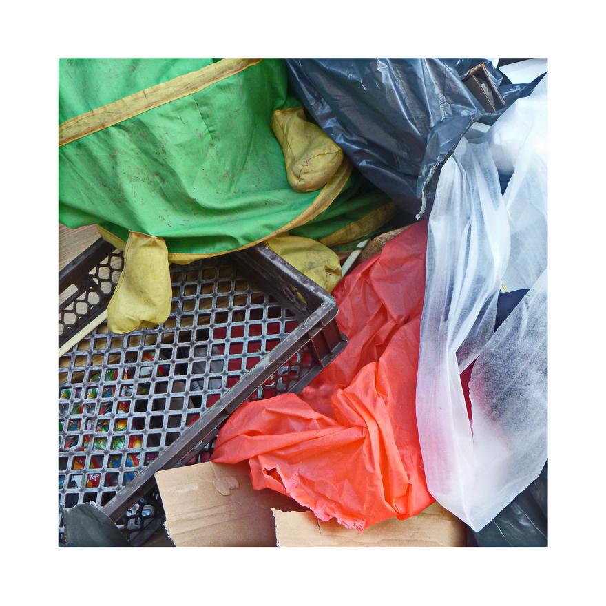 Plastik sammelt sich