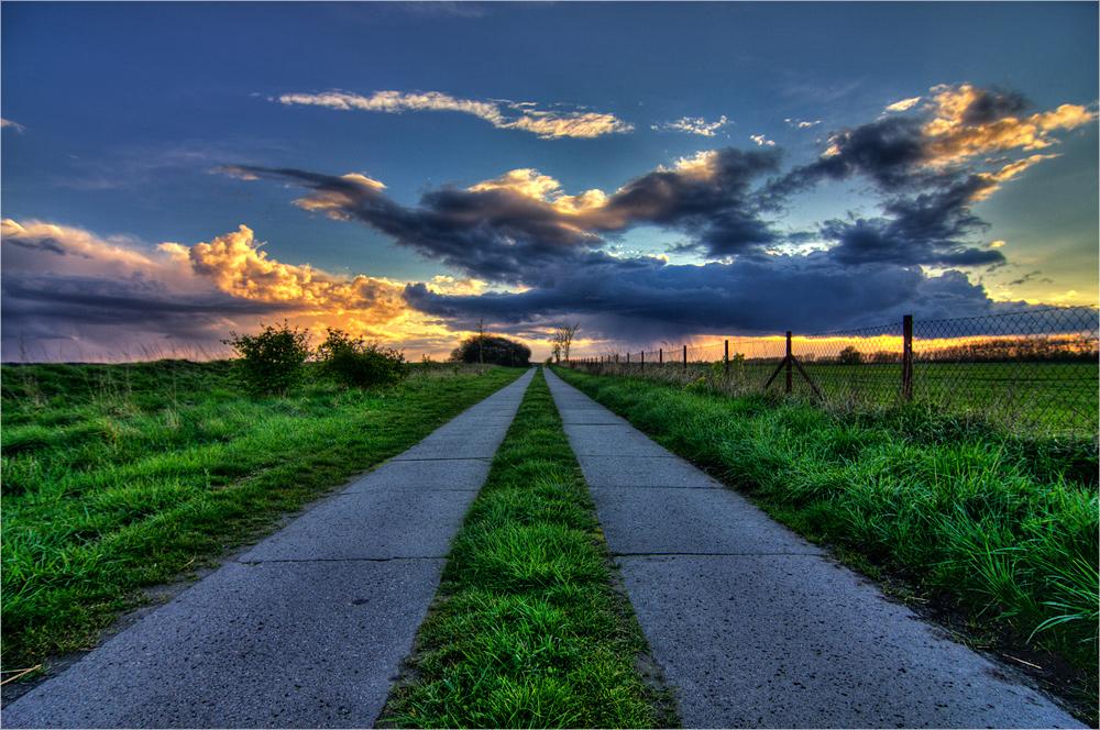 Plattenweg