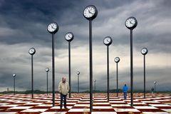 Platz der Uhren
