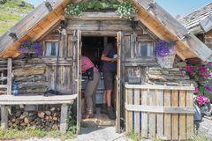 Platz zum Kochen st in der kleinsten Hütte