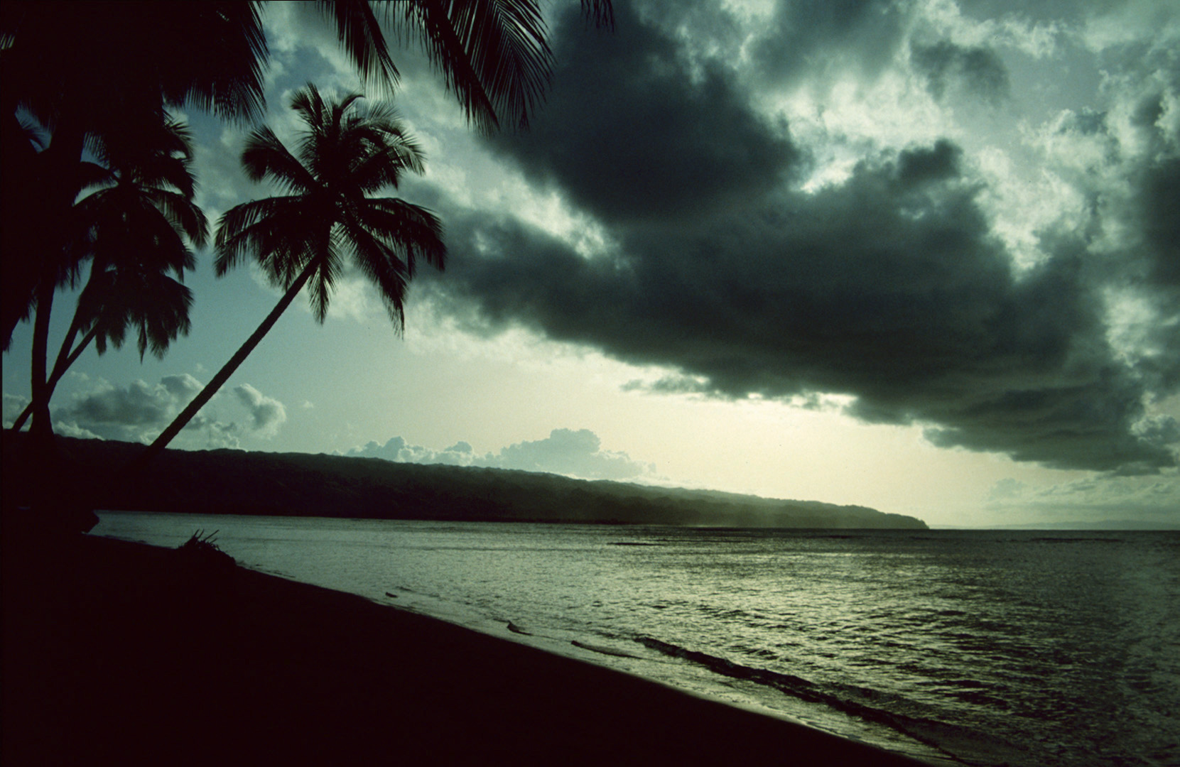 Playa Bonita bei Las Terrenas - 1992 (4)