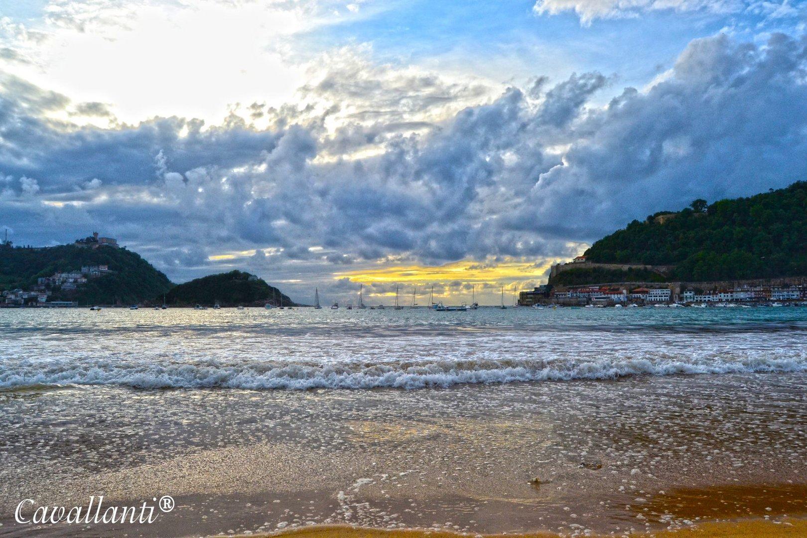 Playa de la Concha Donosti- San Sebastian