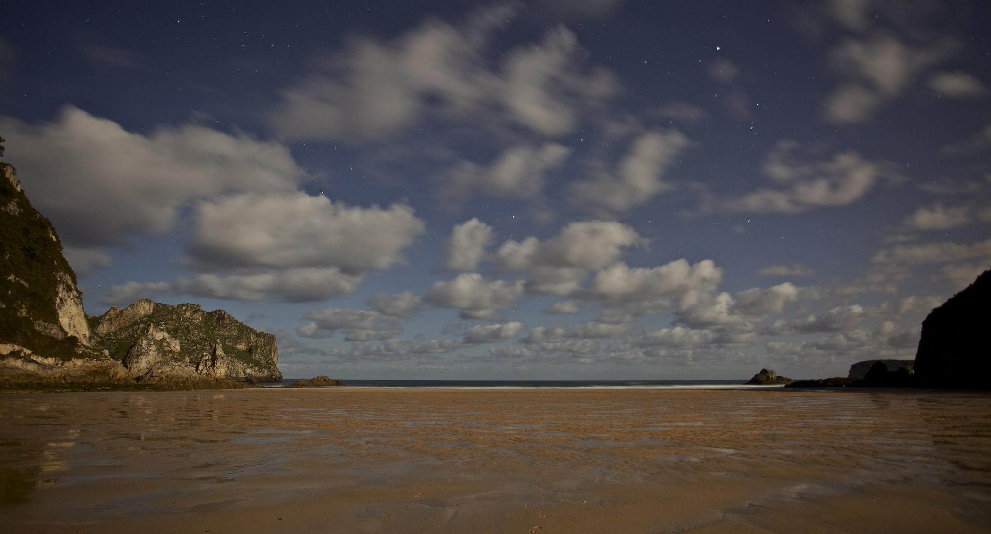 Playa de La franca,nocturna II