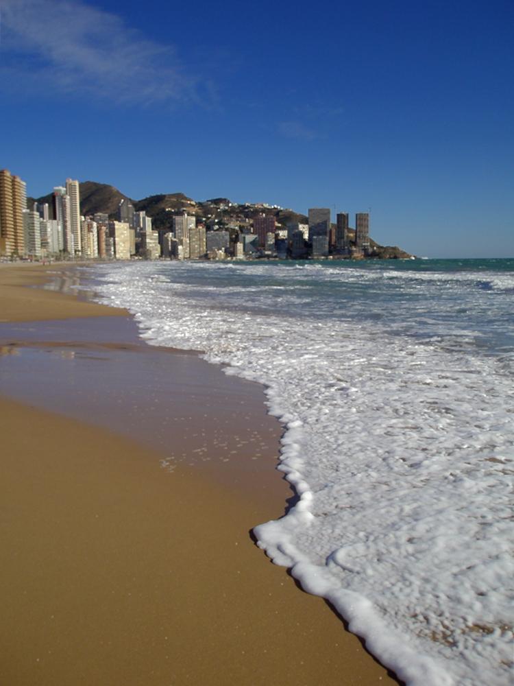 Playa de levante (Benidorm)