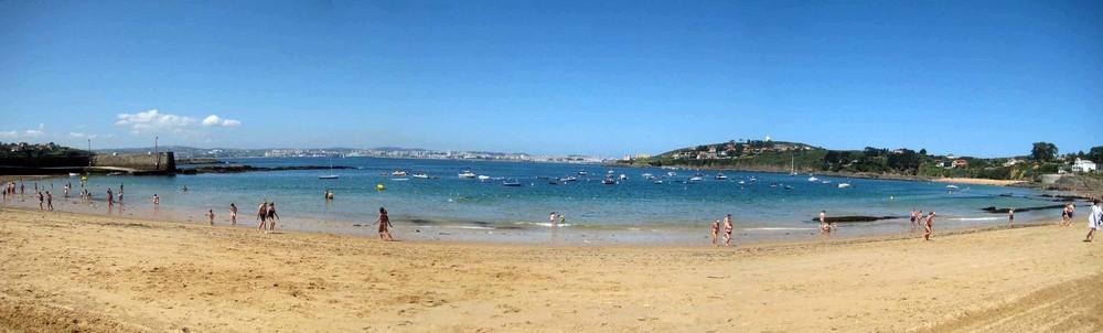 Playa de Mera de Oleiros (La Coruña)