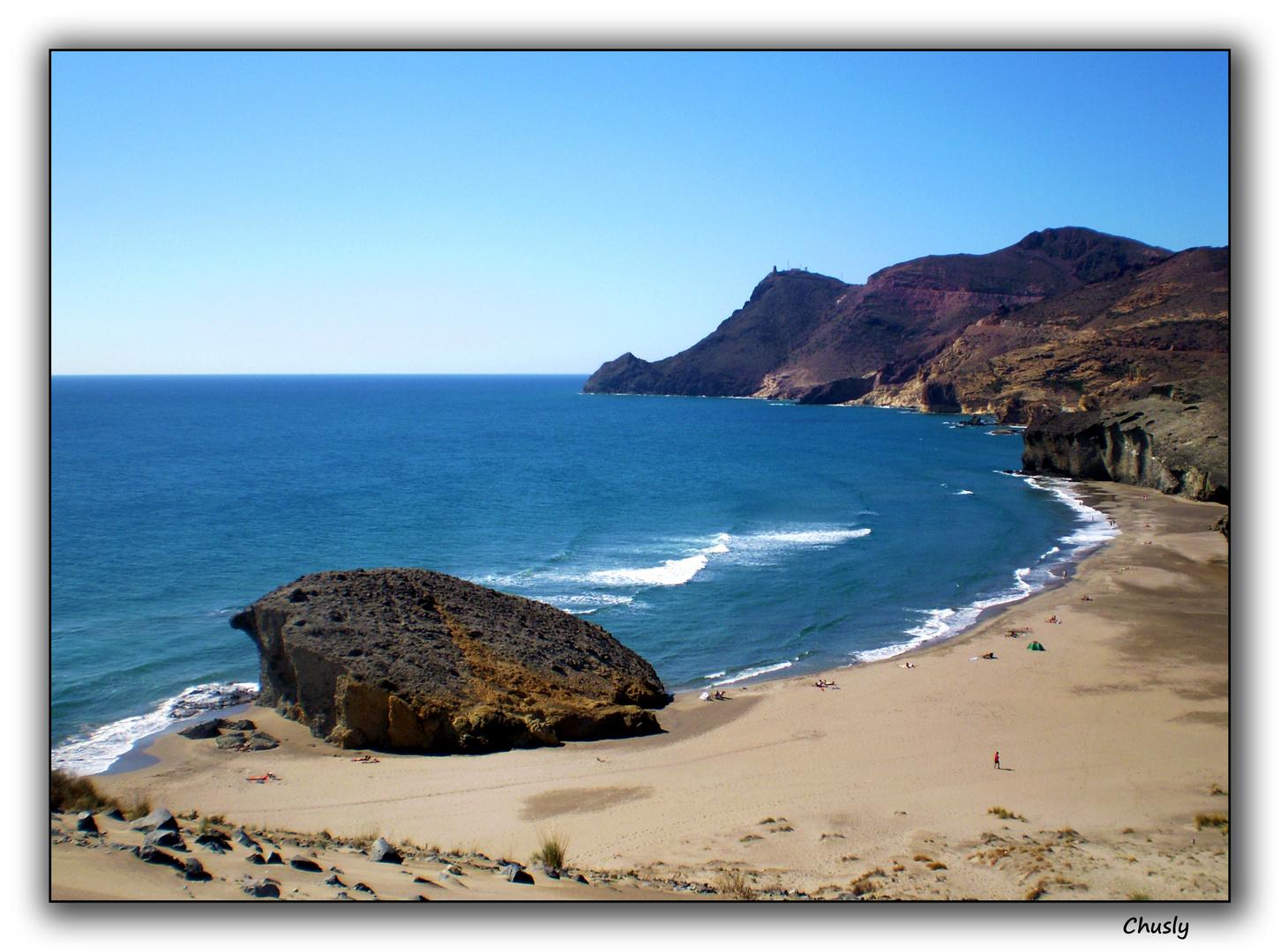 Playa de Monsul (Almería)