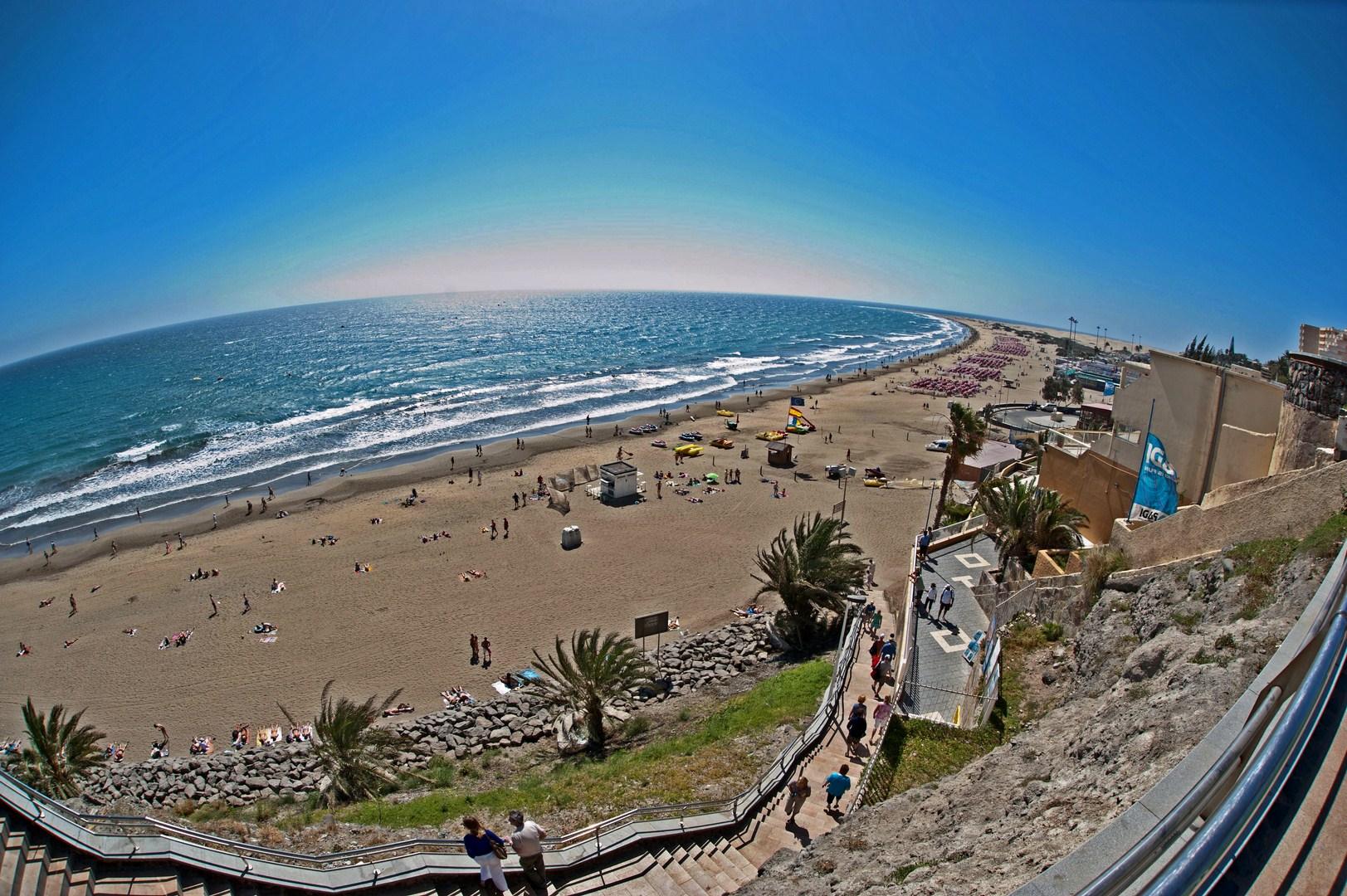 Playa del Ingles, Gran Canaria, etwas anderes