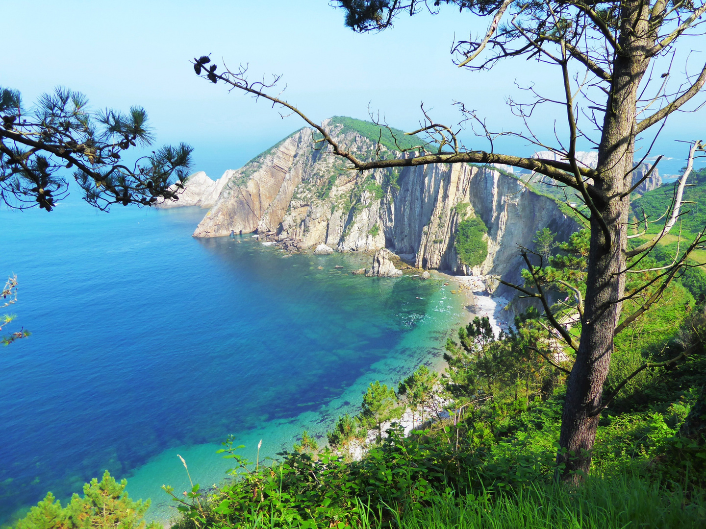 playa del silencio - beach of silence