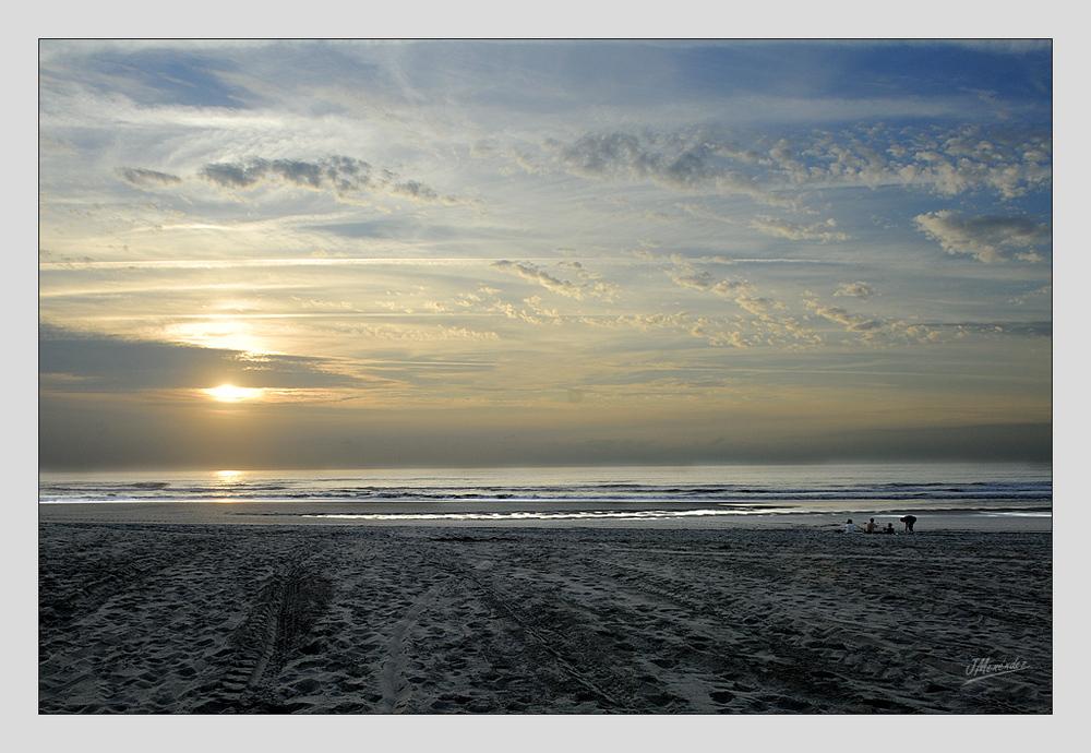 Playa en estado natural