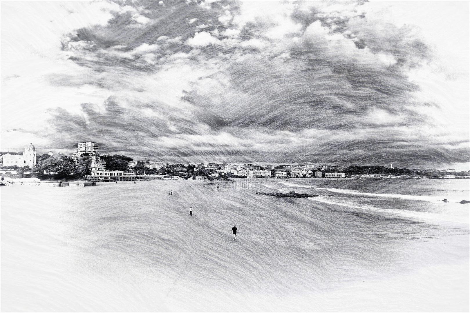 Playa onírica