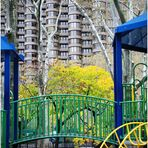 Playground in Autumn - A Murray Hill Impression