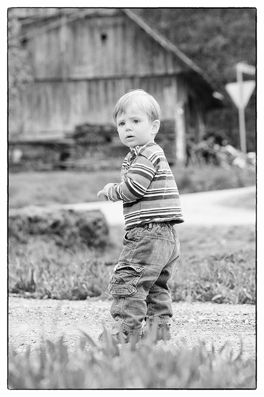 Playing in Grandmother's Backyard