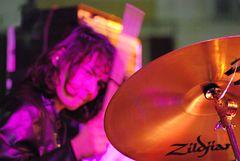 playng drums