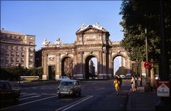 Plaza da Independencia y Alcalá