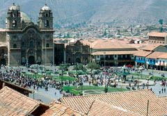 Plaza de Armas in Cuzco