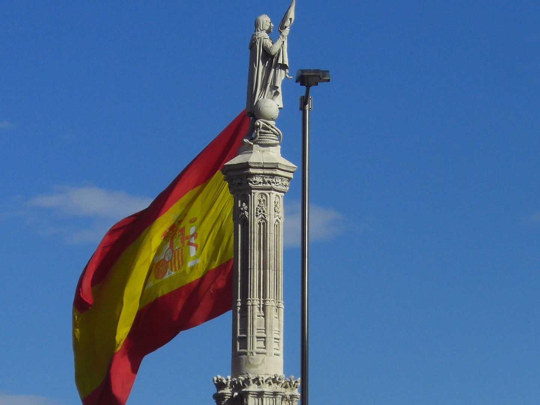 Plaza de Colón, Madrid, Spain.