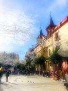 Plaza de El Salvador y Asilo San Juan de Dios de Sevilla