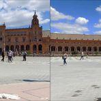 Plaza de España Sevilla Spanien