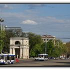 Plaza de Gran Asamblea Nacional de Chisinau (Republica Moldova)