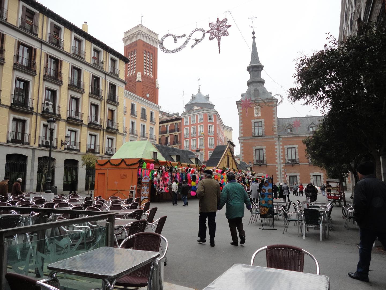Plaza de Santa Cruz. Madrid. 30 de Diciembre de 2012