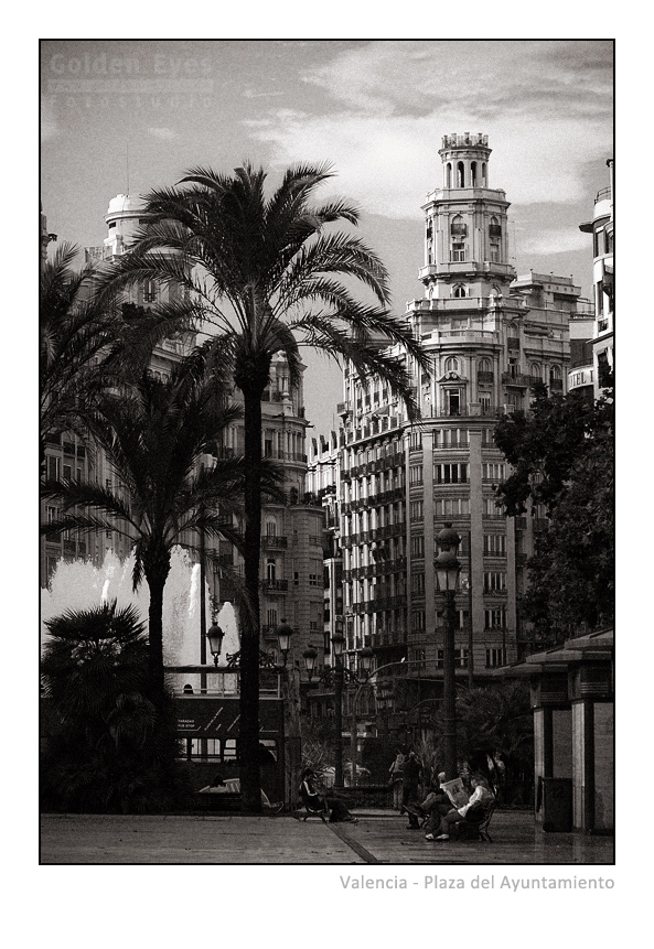 Plaza del Ayuntamiento - Valencia